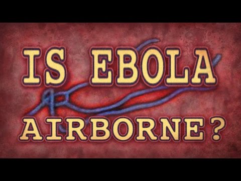 Is Ebola Airborne? A Literature Review