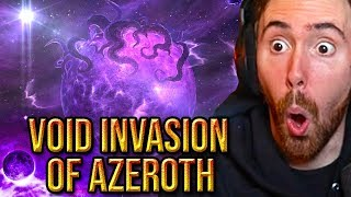 Asmongold Reacts To The Upcoming Void Invasion Next Wow Expansion Speculations - Bellular