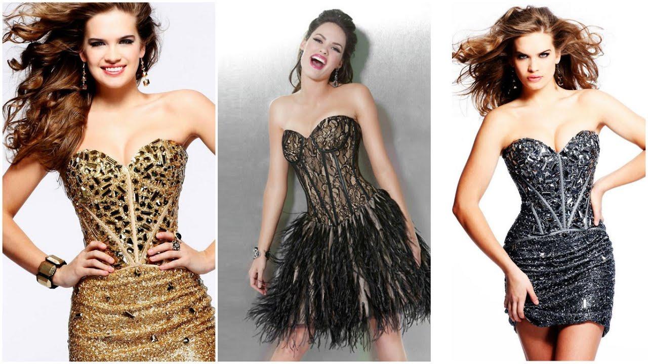 VESTIDOS PARA FIESTA ♥ MODA JUVENIL 2016 Fashion Moda Vestidos