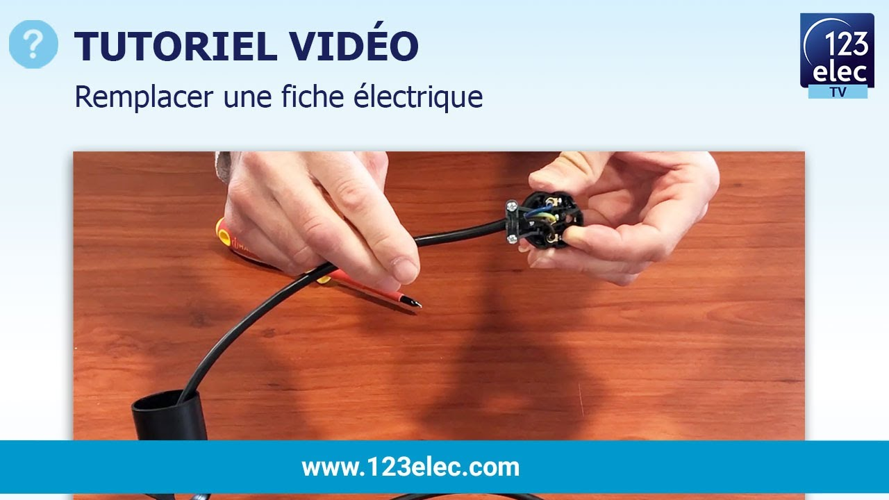 Cordon Electrique Pour Lampe remplacer une fiche électrique - réparer un câble d'alimentation secteur