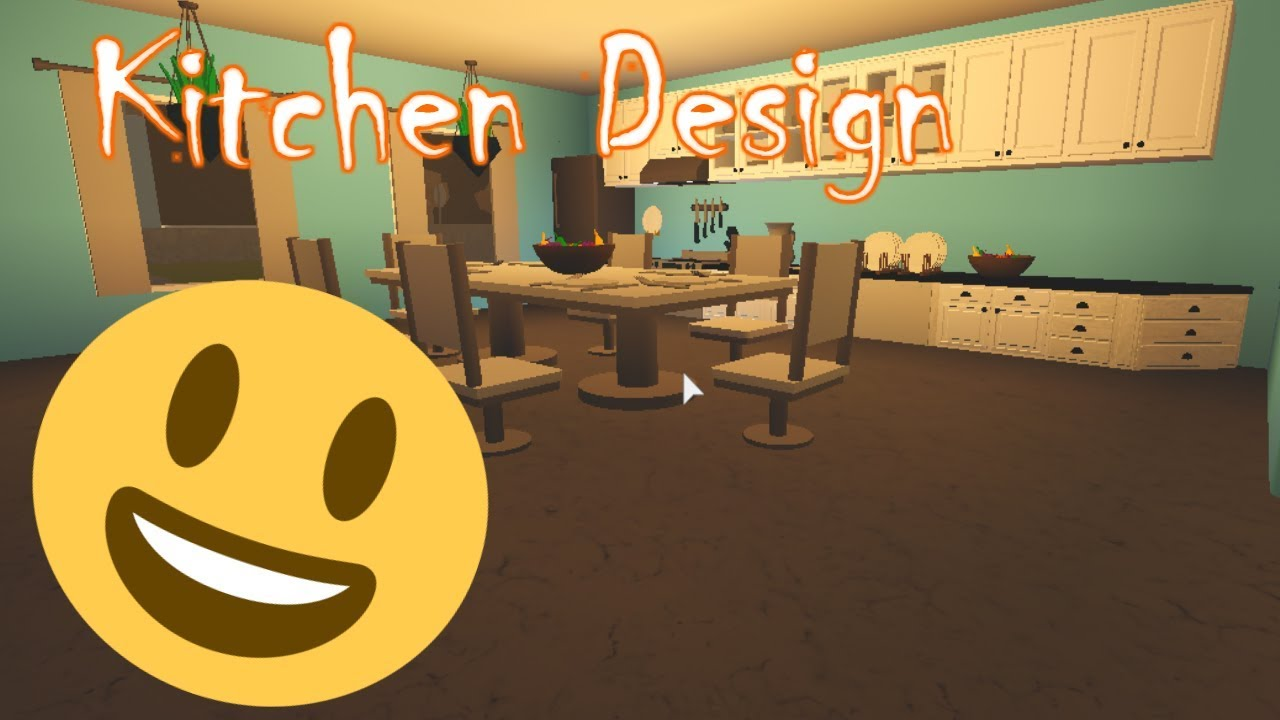 Classic Mansion Kitchen Design Tutorial Roblox Rocitizens Tutorial Youtube