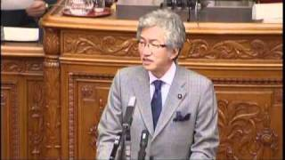 西田昌司「仙谷官房長官に対する問責決議案 2010.11.26」 thumbnail