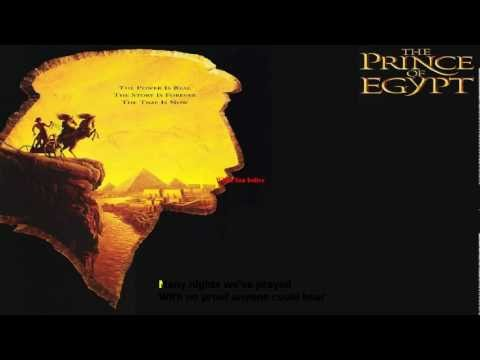 Prince of Egypt-Miracles karaoke