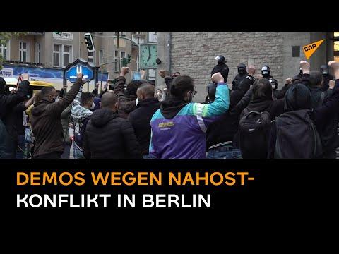 Demonstrationen in Berlin