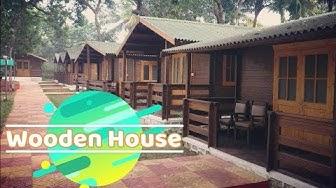 Beautiful Wooden Houses In Mumbai | Farm Regency Resort | Gorai