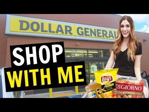 First Impression Of The Dollar General | SHOP WITH ME