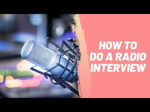 How to Do a Radio Interview