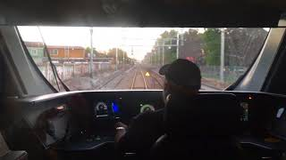 Metro tren Alameda Nos