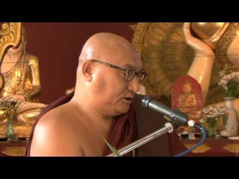 Shwe Nya War Sayadaw - 91st National Day Event - 2011 - Rangoon - Part 2