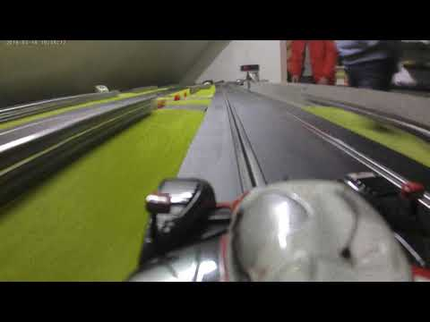 Circuit Jules Tacheny Mettet Scalextric caméra embarquée