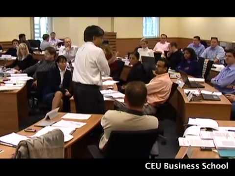 CEU Business School promotional video