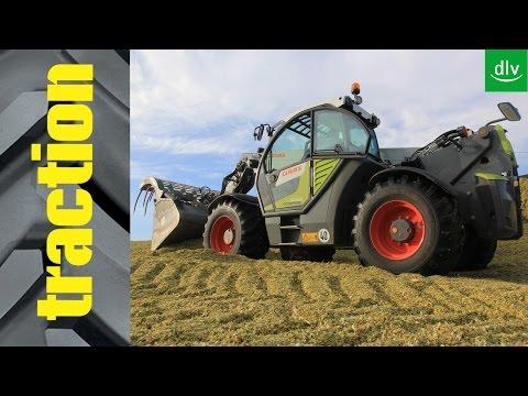 Claas Scorpion 9055 in der traction-Arbeitsprobe