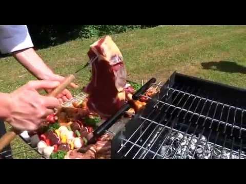 Boucherie lambot comment cuire une c te l 39 os ou une entrec te au barbecue youtube - Cuisson basse cote a griller ...