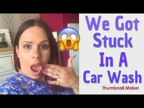 vlog - We Got Stuck In A Car Wash!