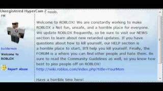Roblox: Builderman mi odia.