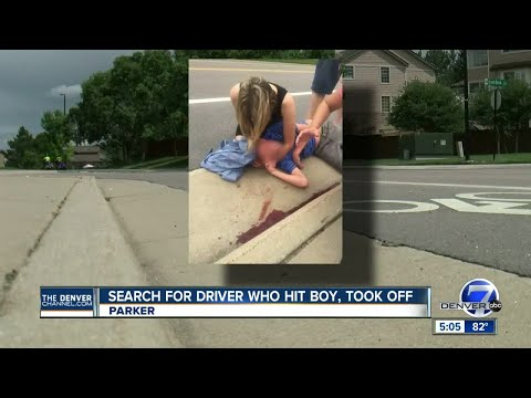 Douglas County deputies look for driver who hit 11-year-old boy, drove off