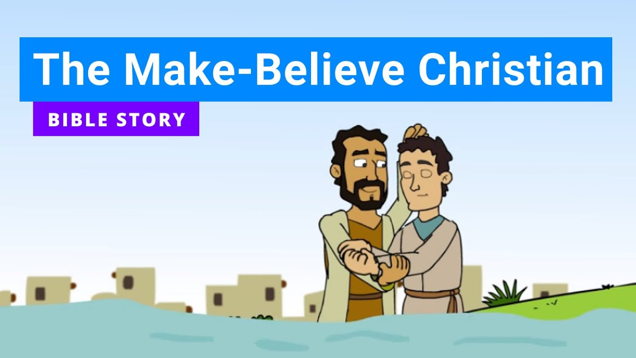 "Primary Year B Quarter 3 Episode 4 ""The Make-Believe Christian"""