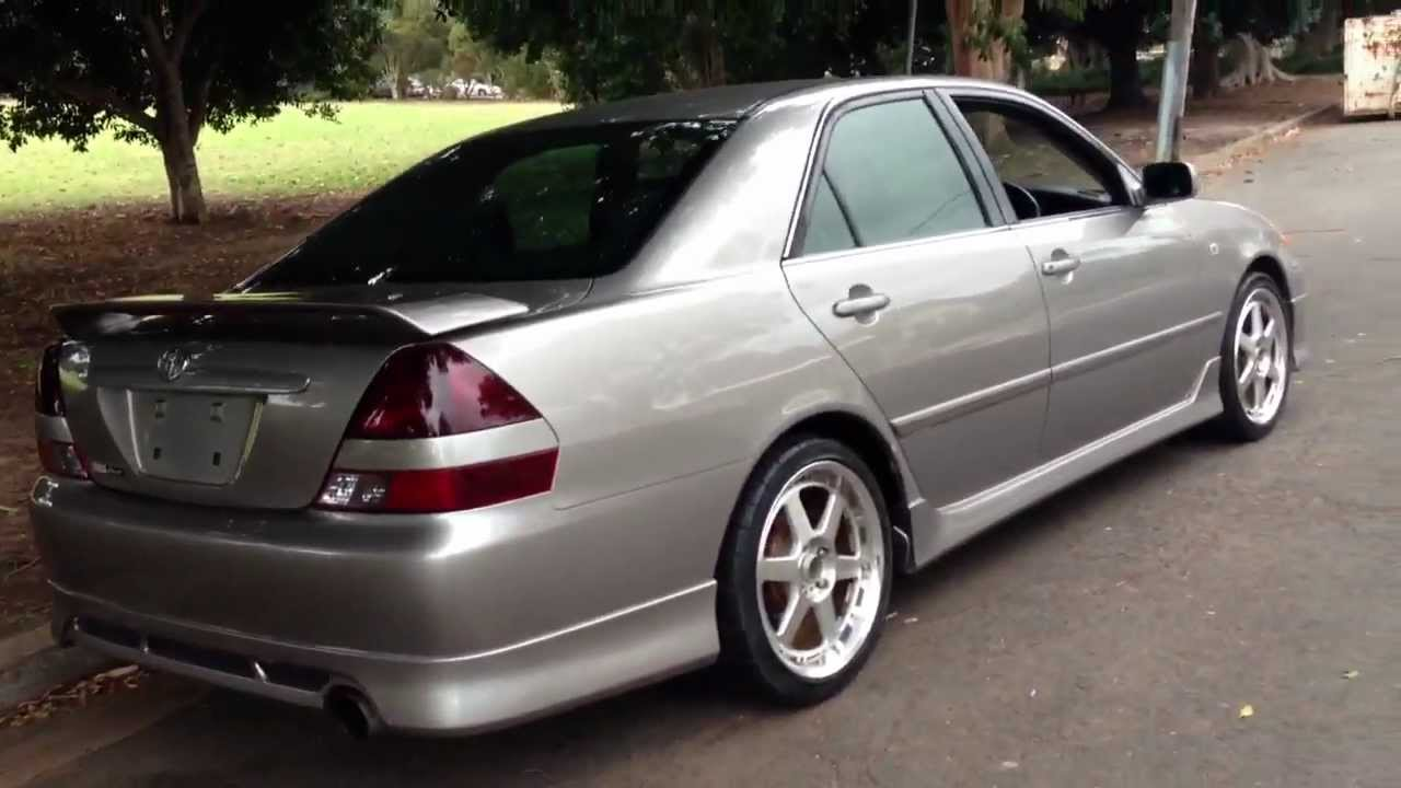 Toyota Fortuna Mark Ii Ir V Jzx110 Yamaha Tuned Manual