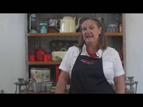 Sarah Lilford (Dusty Roads) cooks her favourite desserts