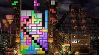 Decahexatris outside of Tetris Effect