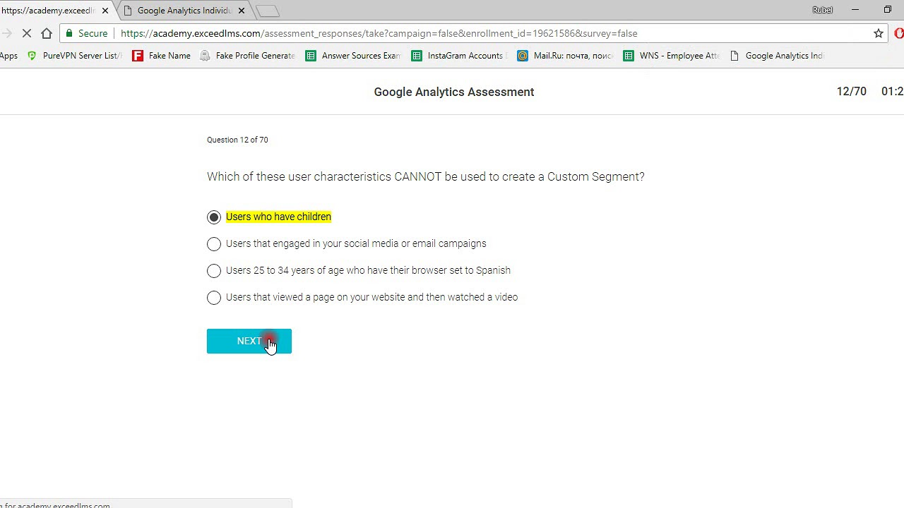 Google Analytics Certification Exam Answer September 2018 Youtube