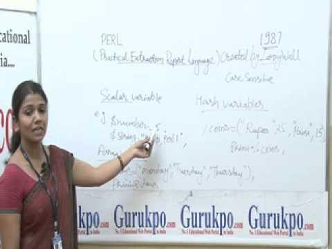 PERL programming basics Lecture (BCA,MCA)by Ms. Rashmi Sharma.