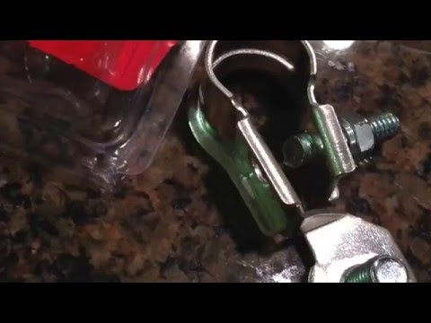 How to replace cheap battery terminals with marine terminals - Saturday Projects