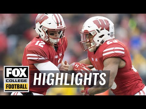 Michigan vs Wisconsin | Highlights | FOX COLLEGE FOOTBALL