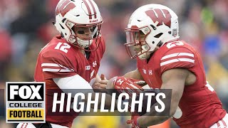 Michigan vs Wisconsin | Highlights | FOX COLLEGE FOOTBALL