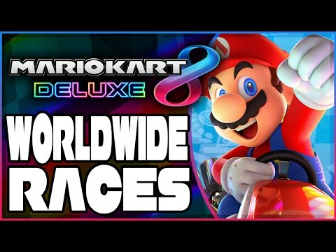 Abdallah vs. The World - Part 1 | Mario Kart 8 Deluxe RANKED Worldwide Races!