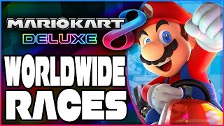 Abdallah vs. The World - Part 1 | Mario Kart 8 Deluxe RANKED Worldwide Races!