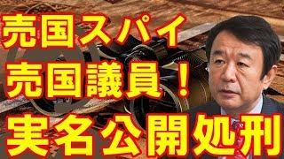青山繁晴 売国スパイ議員はコイツだ!実名公開処刑で猛烈批判!!