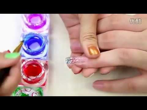 How to: Get UV Gel Jewelry Tip Nails Design