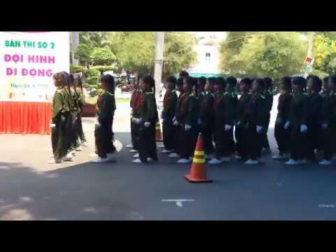 Nghi thức đội trường Vĩnh Lộc 2 (H. Bình Chánh) - cấp thành 2015 (Giải KK)