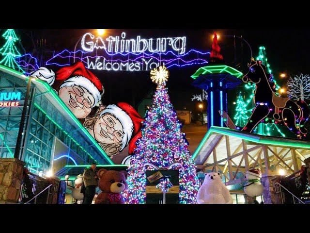 Gatlinburg Christmas 2020 Gatlinburg in Lights Tour Christmas in the Smokies Holiday Season