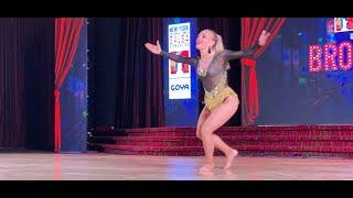 NYISC 2019: Chiara Tofani Salsa Fusion Dance Performance NYC - New York International Salsa Congress