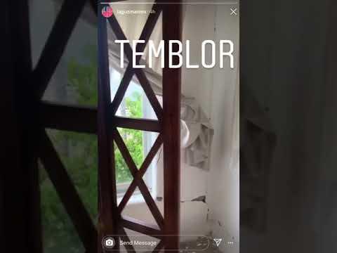 Alejandra Guzmán muestra daños del sismo en su casa 23 de junio 2020