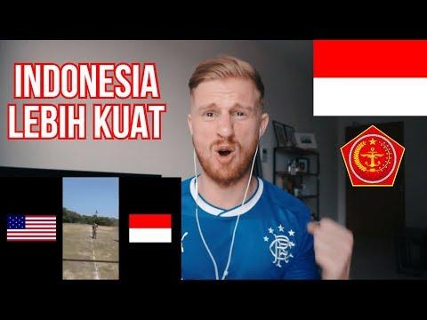 Mengadu Kekuatan TNI Indonesia vs Tentara Amerika // REACTION