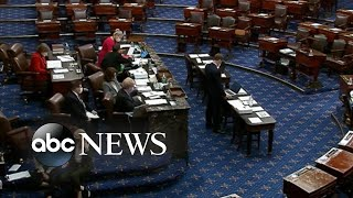 Senate voting on amendments to President Biden's pandemic relief plan
