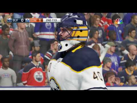 NHL 18 GamePlay | Buffalo Sabres Vs Edmonton Oilers