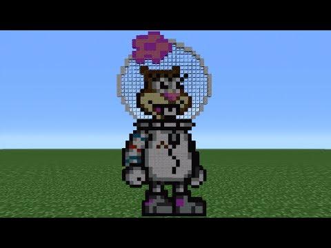Minecraft 360: How To Make Sandy Cheeks *Remake*