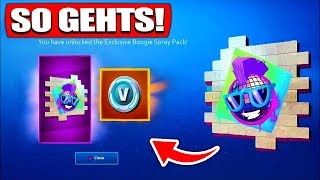 Obtenez Walmart Fortnite SPRAY GRATUIT! SO GEHTS! - Fortnite Battle Royale - France Le nain de fruit