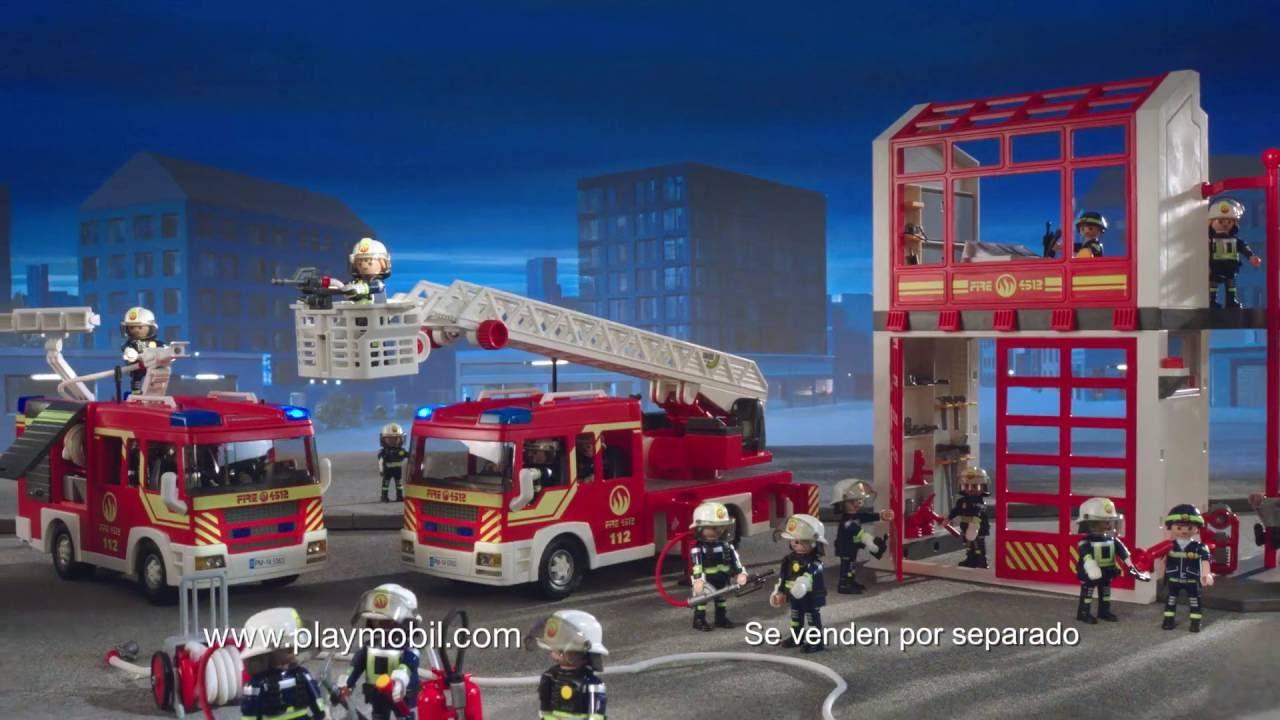 playmobil bomberos espa ol youtube