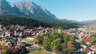 Poiana Tapului by Drone | Busteni | Romania | 4K