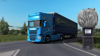 Euro Truck Simulator 2 Scania DC13 engine sound mod release