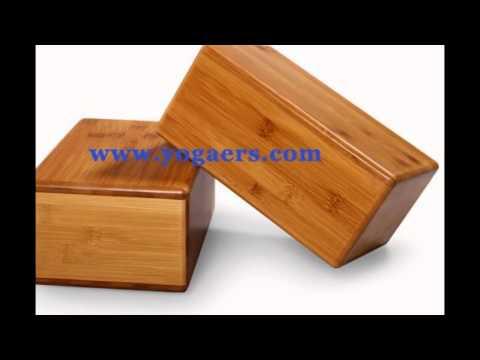 Great Natural Fitness Bamboo yoga blocks, eco friendly