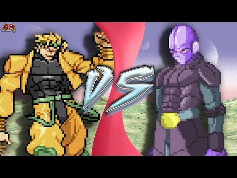 DIO vs HIT! (JoJo's Bizarre Adventure vs Dragon Ball Super Animation) | CARTOON FIGHT CLUB