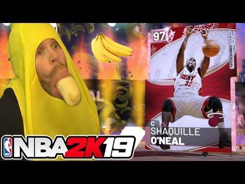 I'm Bananas for SHAQ! NBA 2K19