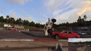 Random Quick Vid: Wreckfest shortcut crash