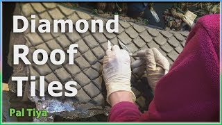 Diamond Roof Tiles for Weta Workshop Commission- Pal Tiya Premium #4